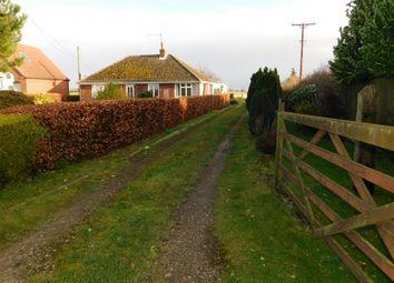 Thumbnail 3 bed detached bungalow for sale in Fen Bank Lane, Wainfleet