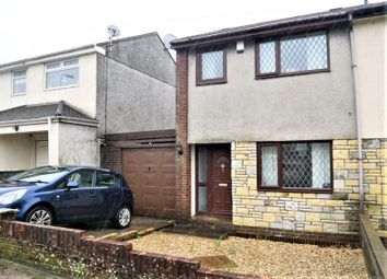Thumbnail 2 bed semi-detached house for sale in Heol Brynhyfryd, Woodland Park, Llantwit Fardre