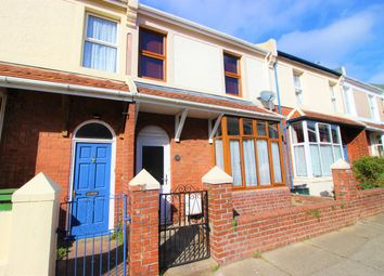 Thumbnail 3 bed terraced house for sale in Hingston Road, Torquay
