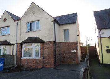 Thumbnail 3 bed semi-detached house to rent in Osmaston Park Road, Allenton, Derby