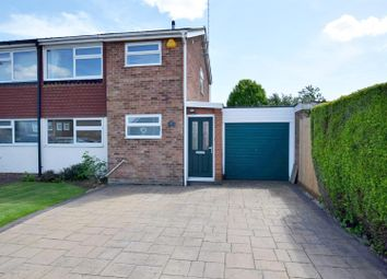 Thumbnail 3 bed semi-detached house for sale in Sherwood Way, Feering, Colchester