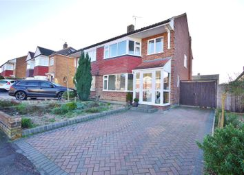 Thumbnail 3 bed semi-detached house for sale in Mayflower Way, Ongar, Essex