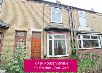Thumbnail 2 bed terraced house for sale in Elsternwick Avenue, Hull