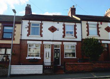 Thumbnail 2 bed terraced house for sale in Grosvenor Avenue, Stoke-On-Trent