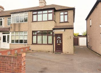 Thumbnail 3 bedroom end terrace house for sale in Seabrook Gardens, Romford