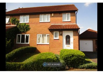 Thumbnail 3 bed semi-detached house to rent in Clos Nant Ddu, Pontprennau, Cardiff