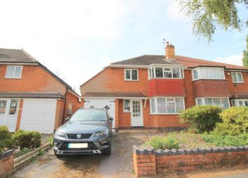 Thumbnail 3 bed property to rent in Ulverley Green Road, Solihull