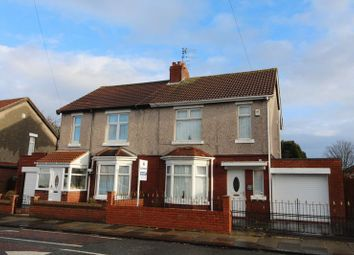 Thumbnail 3 bedroom semi-detached house to rent in Newsham Road, Blyth