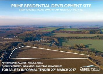 Thumbnail  Land for sale in New Sporle Road, Swaffham