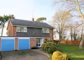 Thumbnail 4 bedroom detached house for sale in Woodland Close, Risby, Bury St. Edmunds