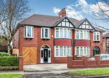 Thumbnail 6 bed semi-detached house for sale in Longley Lane, Manchester