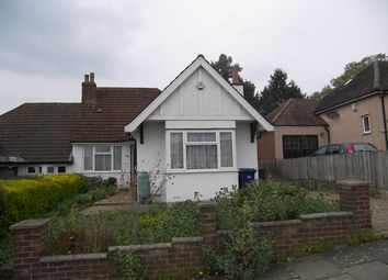 Thumbnail 3 bedroom semi-detached bungalow for sale in Normandy Avenue, Barnet