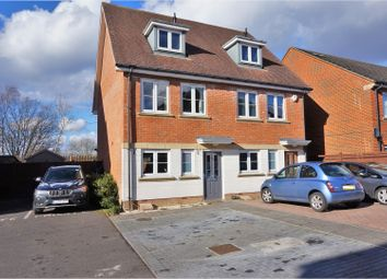 Thumbnail 4 bed semi-detached house for sale in Egan Close, Kenley