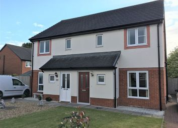 Thumbnail 3 bedroom semi-detached house to rent in Sycamore Drive, Longtown, Carlisle