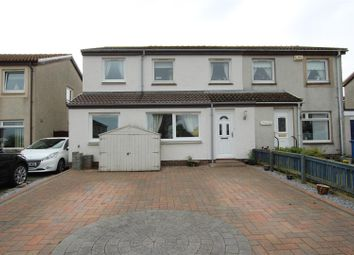 Thumbnail 4 bed semi-detached house for sale in Overton Crescent, Livingston, East Calder