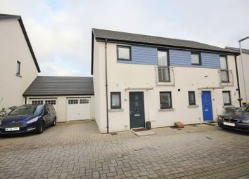 Thumbnail 3 bed semi-detached house for sale in Murhill Lane, Plymouth