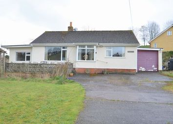 Thumbnail 2 bedroom detached bungalow for sale in The Green, Fore Street, Cullompton
