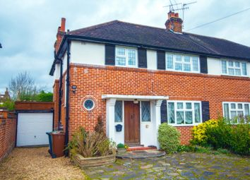 Thumbnail 3 bed semi-detached house for sale in Eastcote Road, Pinner, Middlesex