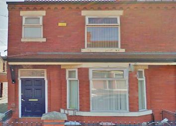Thumbnail 4 bedroom end terrace house to rent in Crofton Street, Rusholme, Manchester