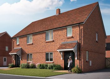 """Thumbnail 3 bedroom semi-detached house for sale in """"The Chilham"""" at Mill Road, Hailsham"""