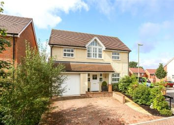 Thumbnail 4 bedroom detached house for sale in Thapa Close, Church Crookham, Fleet