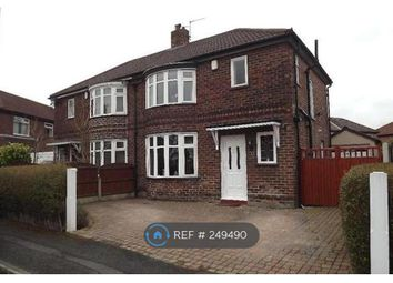 Thumbnail 3 bed semi-detached house to rent in Denholm Road, Manchester