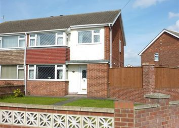 Thumbnail 3 bed semi-detached house for sale in Larmour Road, Grimsby