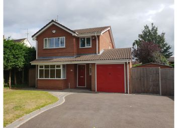 Thumbnail 4 bed detached house for sale in Heathfield Road, Redditch