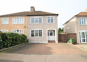 Thumbnail 3 bed semi-detached house for sale in Luddesdon Road, Erith