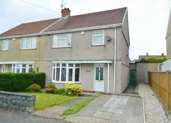 Thumbnail 3 bed semi-detached house for sale in Penderry Road, Penlan, Swansea