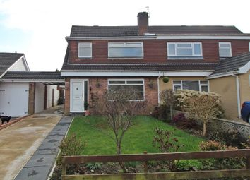 Thumbnail 3 bed semi-detached house for sale in Greenlands Road, Llantrisant, Pontyclun, Rhondda, Cynon, Taff.