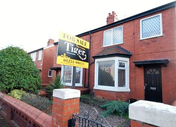 Thumbnail 4 bedroom semi-detached house for sale in Sawley Avenue, Blackpool
