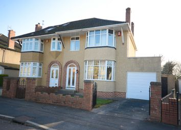 Thumbnail 3 bedroom semi-detached house for sale in Woodside Road, Downend