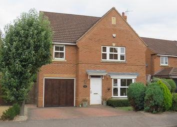 Thumbnail 5 bed detached house for sale in Sandleford Drive, Elstow, Bedford