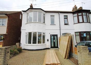 Thumbnail 3 bedroom semi-detached house for sale in Tickfield Avenue, Southend-On-Sea