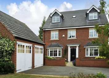 Thumbnail 5 bed detached house for sale in Squirrel Close, Grange Park, Northampton