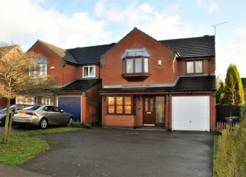 Thumbnail 4 bedroom detached house for sale in Botts Way, Coalville