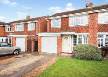 Thumbnail 3 bed semi-detached house for sale in Oundle Drive, Moulton, Northampton