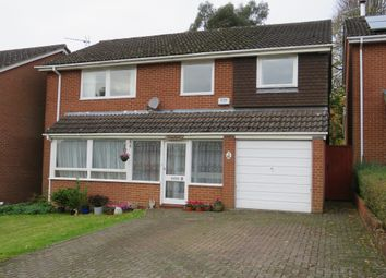 Thumbnail 4 bed detached house for sale in Oak Close, Lyndhurst