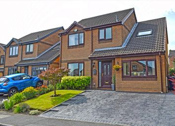 Thumbnail 4 bed detached house for sale in Harefield Rise, Burnley