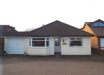 Thumbnail 3 bed bungalow for sale in Longford Road, Cannock, Staffordshire