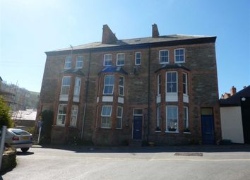 Thumbnail 1 bedroom flat to rent in Cross Street, Lynton, Devon