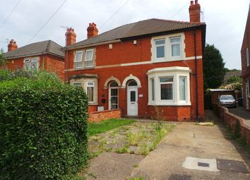 Thumbnail 4 bed semi-detached house for sale in Lea Road, Gainsborough