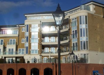 Thumbnail 3 bed flat for sale in Hamilton Quay, Eastbourne