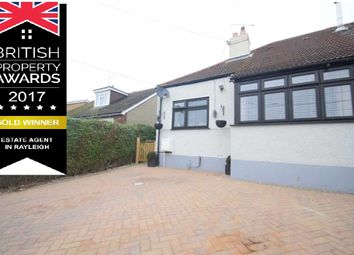 Thumbnail 2 bed semi-detached bungalow for sale in Brooklyn Drive, Rayleigh