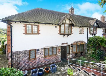 Thumbnail 3 bed semi-detached house for sale in Dean Court Road, Rottingdean, Brighton