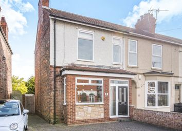 Thumbnail 3 bedroom end terrace house for sale in Ellesmere Avenue, Hull