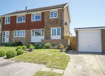 Thumbnail 3 bed semi-detached house for sale in Hazelwood Gardens, St. Leonards-On-Sea, East Sussex