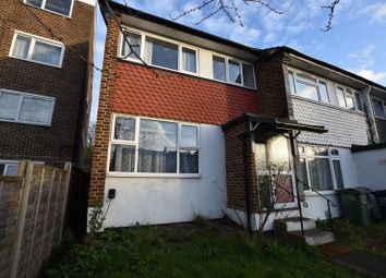 Thumbnail 3 bed end terrace house for sale in Norwood Road, London
