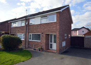 Thumbnail 3 bed semi-detached house for sale in Camp Wood Close, Little Eaton, Derby